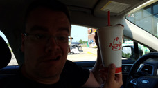 Gen Con 2018 Hudosn stopping at Arby's like a CHAMP!
