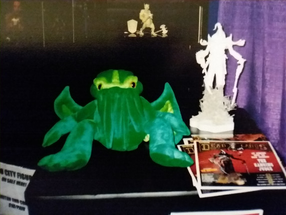 Plush Cthulu!  Everyone should have one!