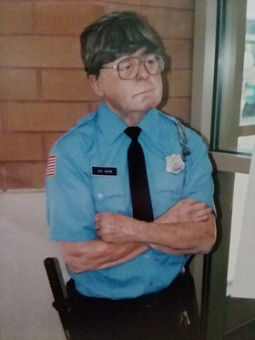The Wax Security Guard.