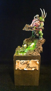 Brian's 2016 Crystal Brush Entry.  Painted by Brian.  Brian did not place.  It made Brian's day though when he recieved positive feedback from the professional minis painter Angel Giraldez.
