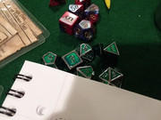 Hudson bought these dice for Jon for Chirstmas.