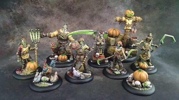 Haunted Farmers Guild Ball Team painted by Brian.