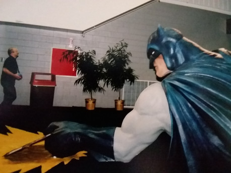 Batman plays TCGs.  Now you know.