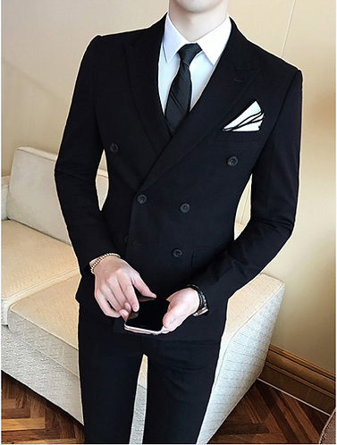 Double-Breasted Fashion Suit