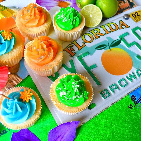 Florida Vibes Special Edition Cupcake Box