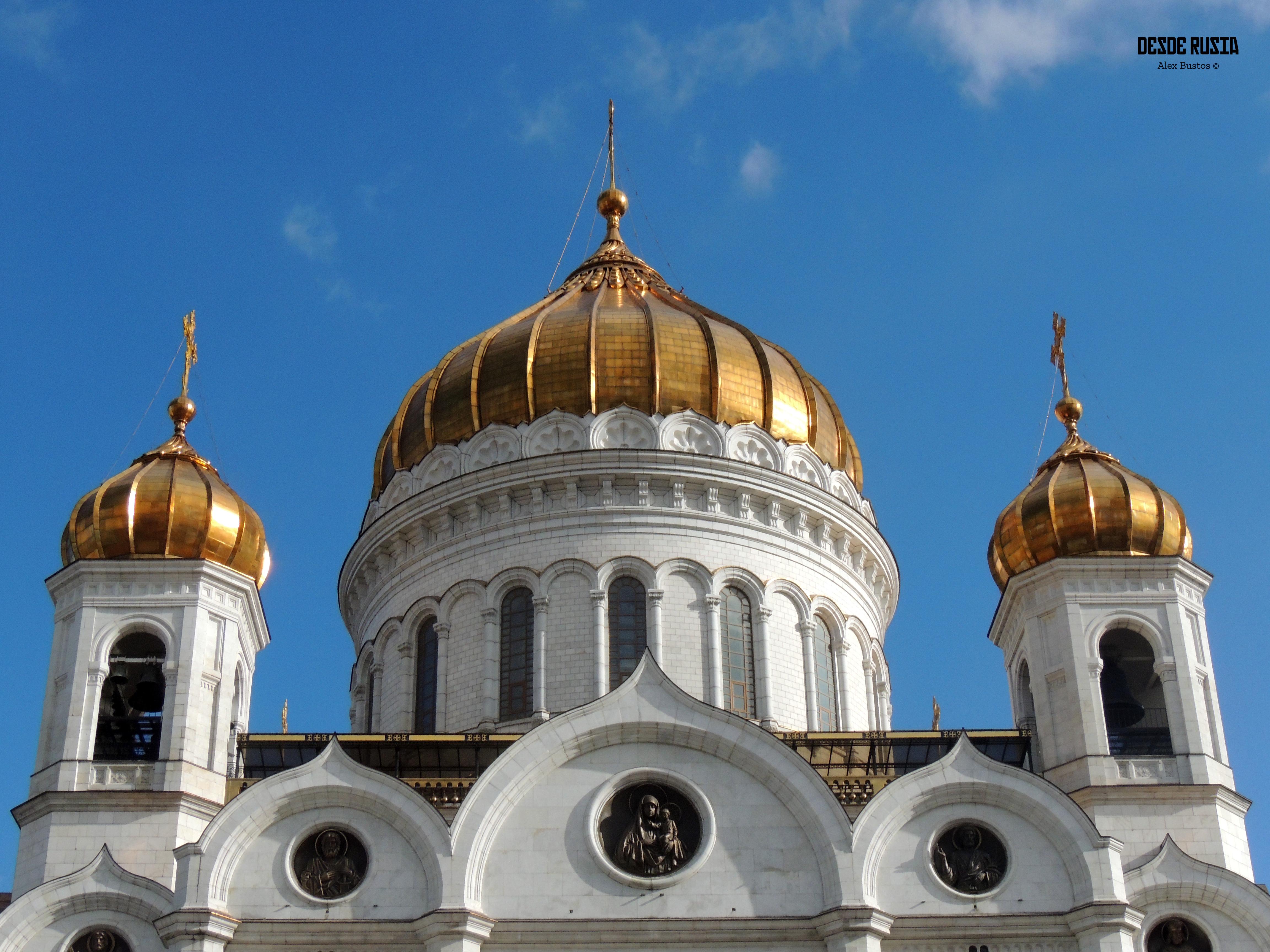 Iglesia del Cristo Salvador de Moscú