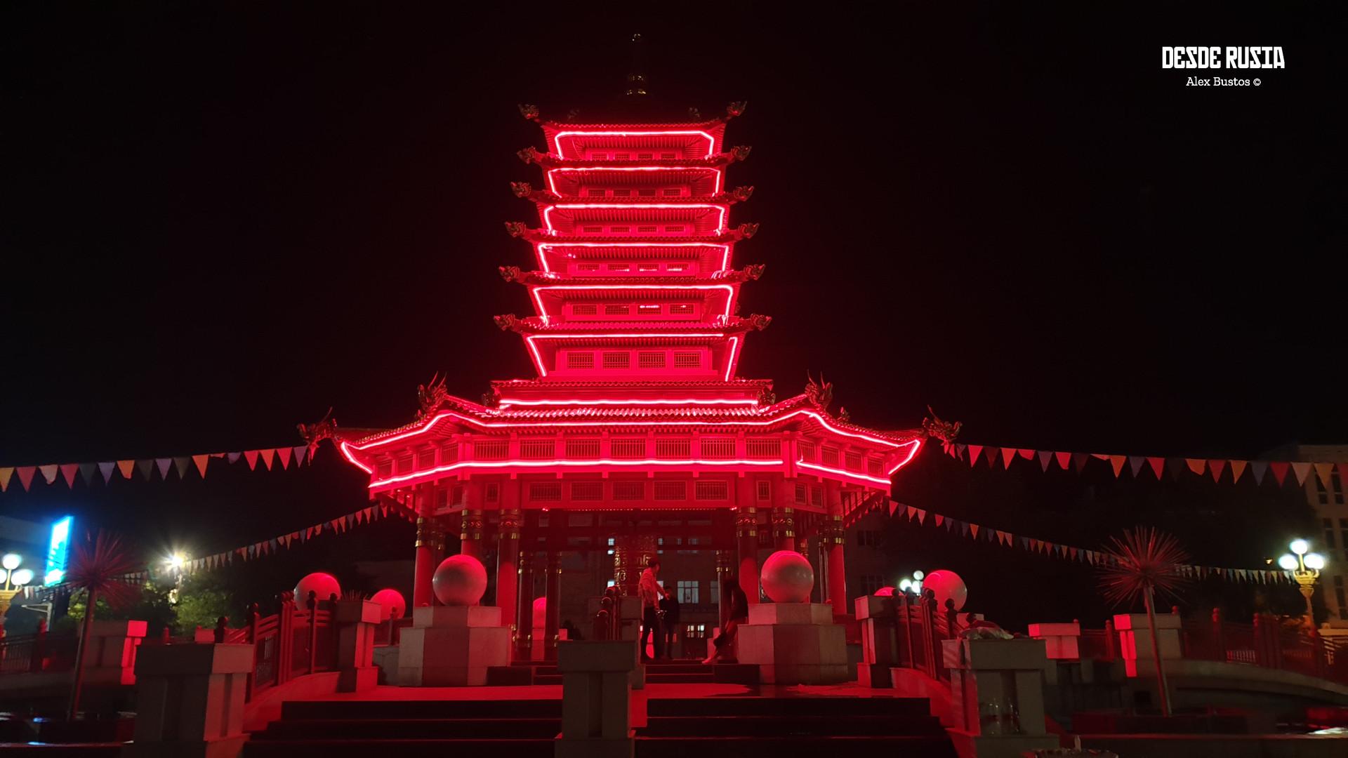 Pagoda de los Siete días de Elistá