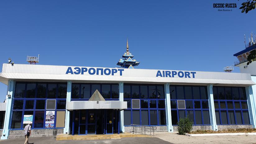 Aeropuerto de Elista, Kalmykia