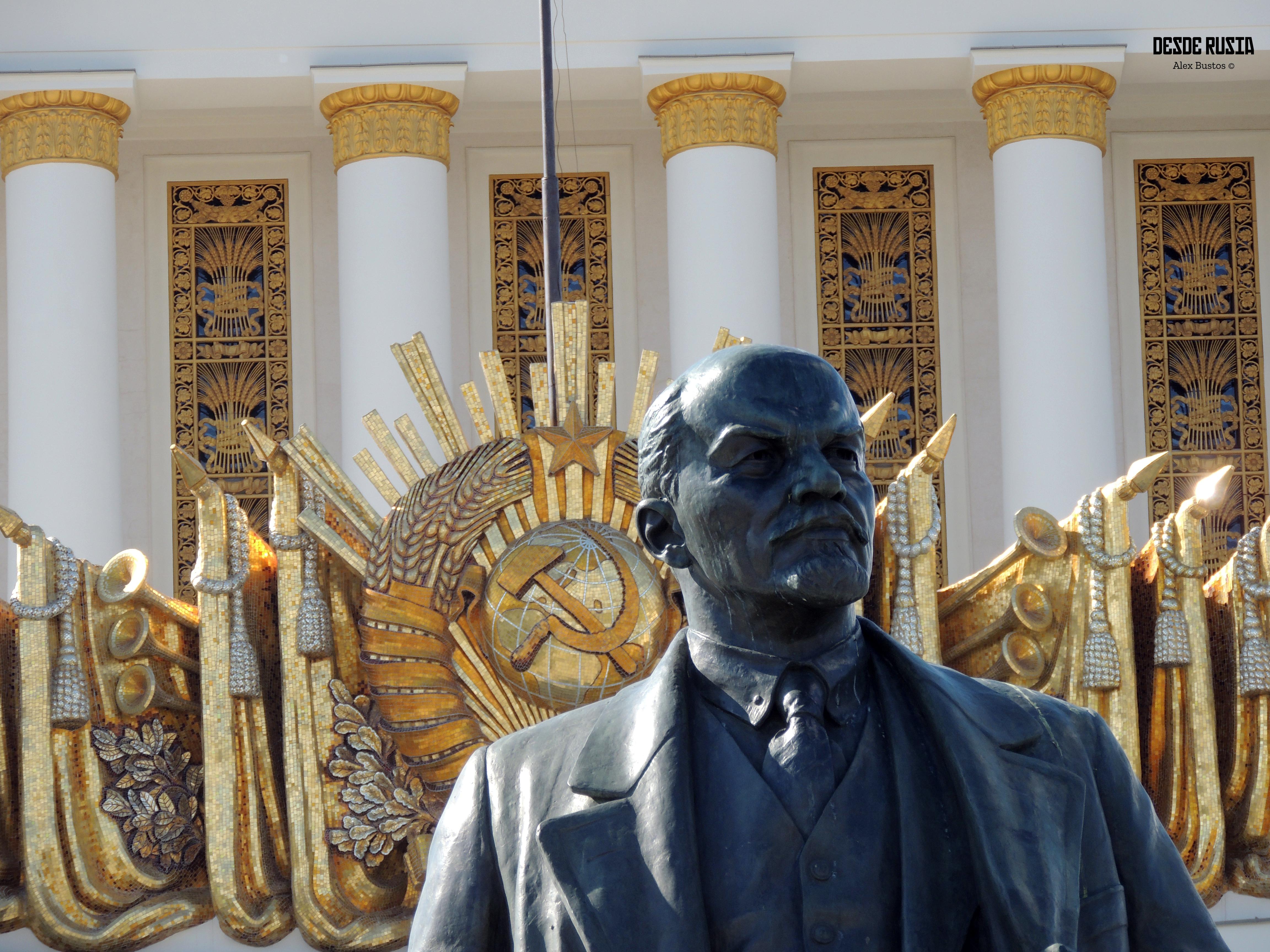 Estatua Lenin Parque VDNKh