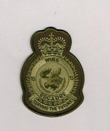 15-Wing Heraldic Crest
