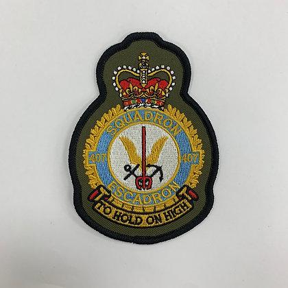 407 Sqn Heraldic Patch