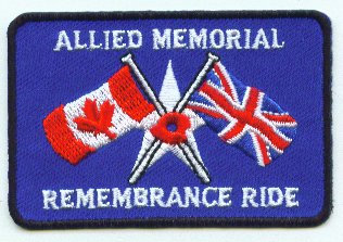 Allied Memorial Remembrance Ride