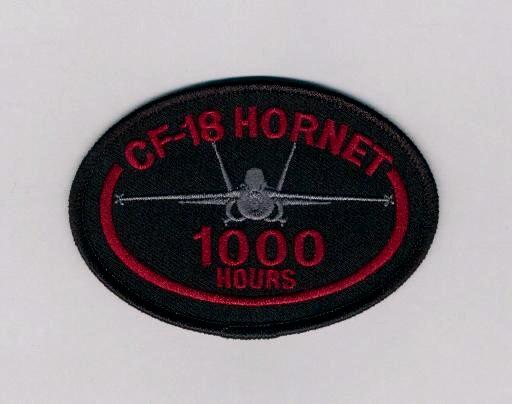 CF-18 1000 Hrs BLK