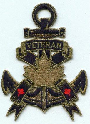 Veterans Gold Anchor