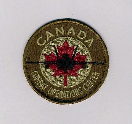 Canada Hornet Combat Operations Center