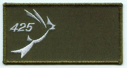 425 Squadron Name Patch