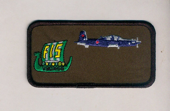 15 Wing Name Patch