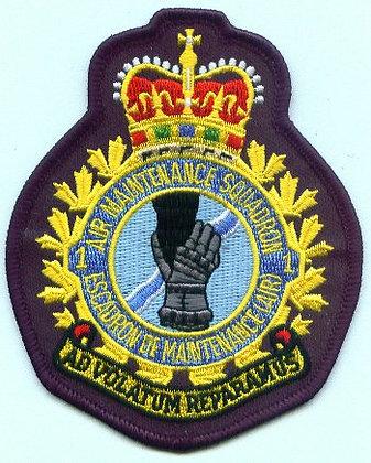 1 AMS Heraldic Crest