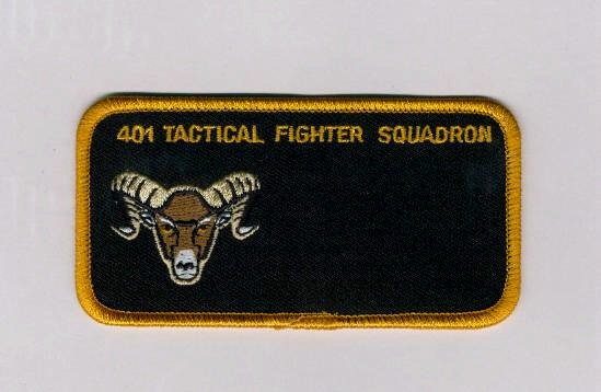 401 Squadron Name Patch