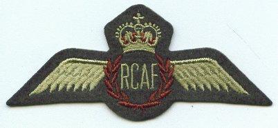 RCAF Felt Wings