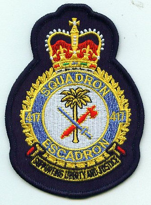 417 Squadron Heraldic Crest