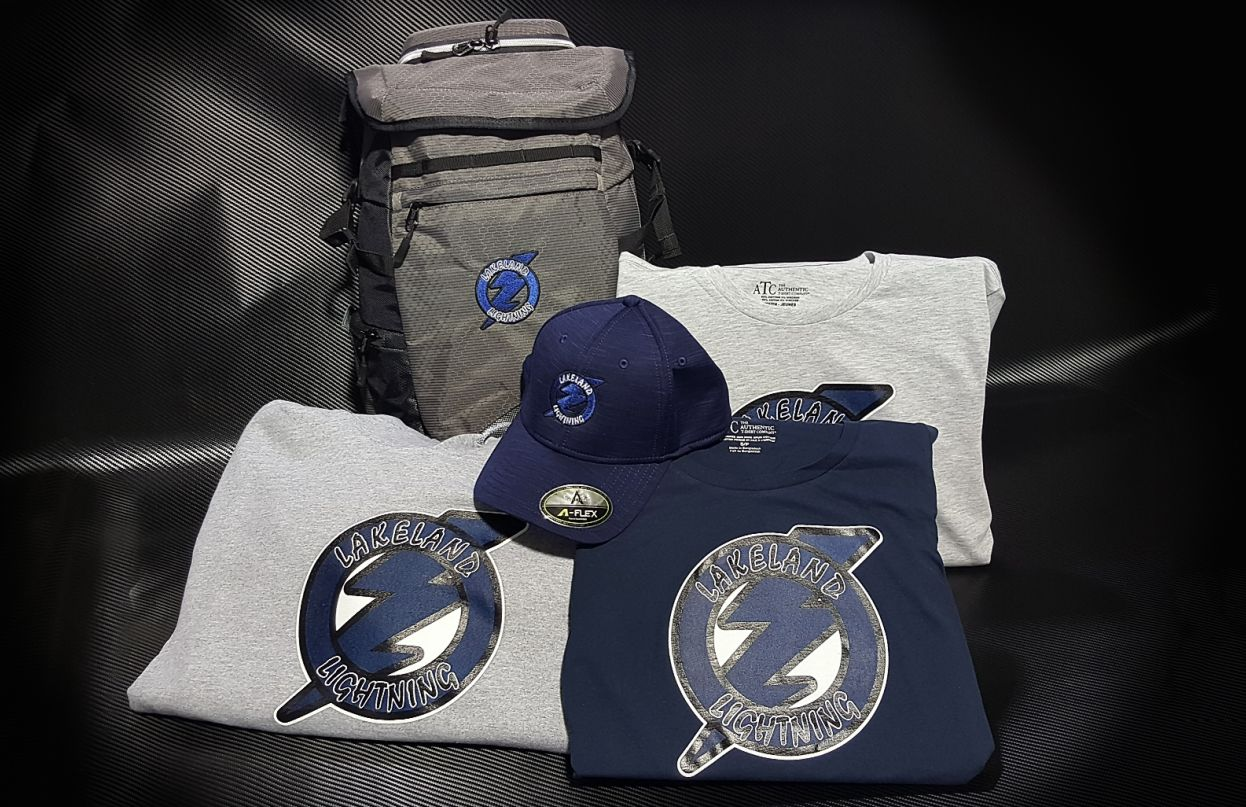 Lakeland Lightning Apparel