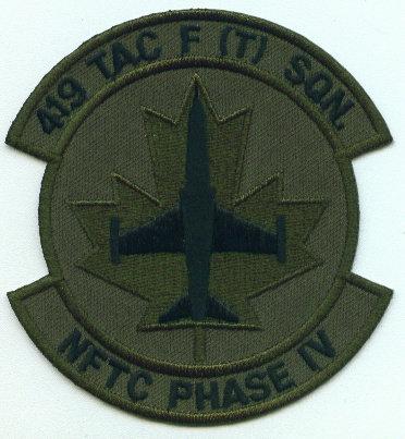 419 TAC F (T) Squadron