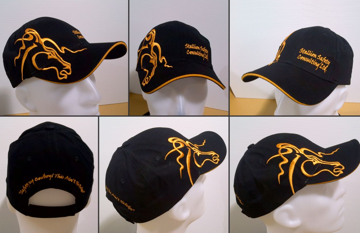 Stallion Safety Custom Hat