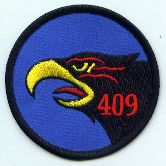 409 Squadron left facing patch