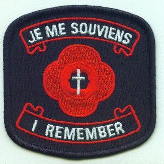 Je Me Souviens, I Remember