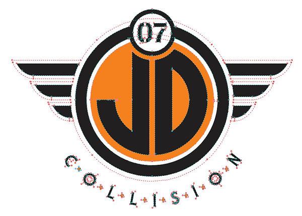 Vector Logo JD Colllison