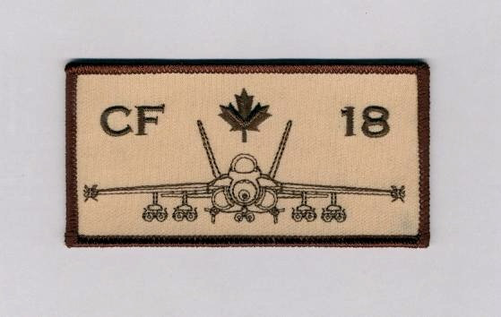 CF-18 Rectangular Patch