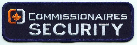 Commissionaire's Security Badge