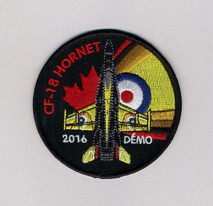 CF-18 Hornet Demo 2016