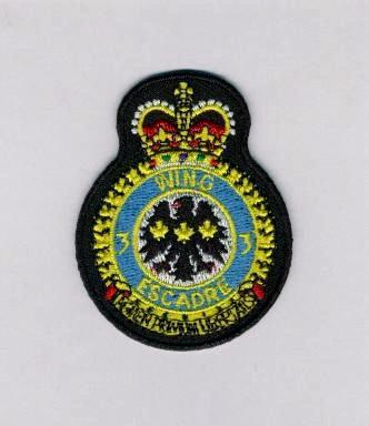 3-Wing Bagotville Small Heraldic Crest