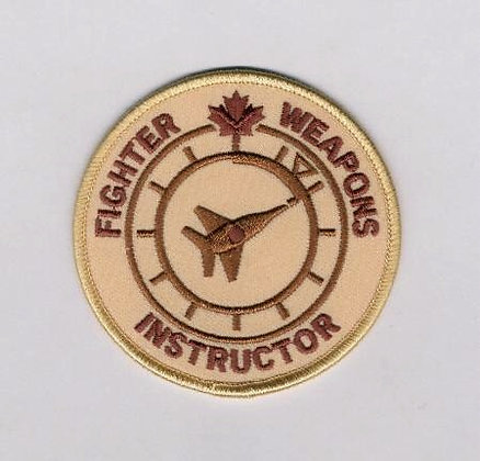 Fighter Weapons Instructor