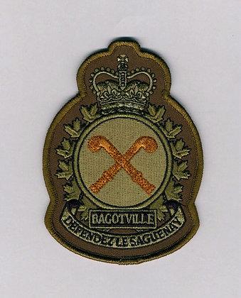 3-Wing Bagotville Heraldic Crest - Wing Commander