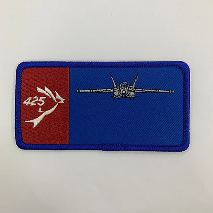 425 Name Tag with F-18