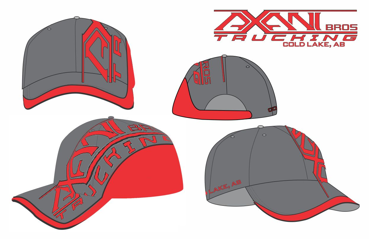 Axani Bros Custom Hat Concept