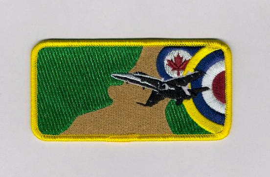 CF-18 Demo Team Battle of Britain Name Patch