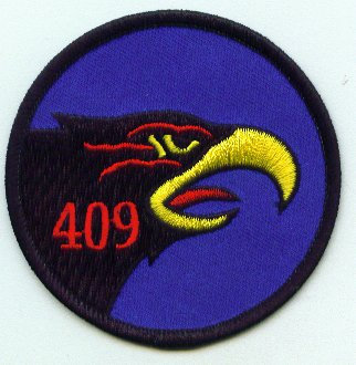 409 Squadron crest right facing bird
