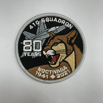 410 80 Years patch