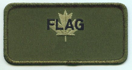 Maple Flag name patch