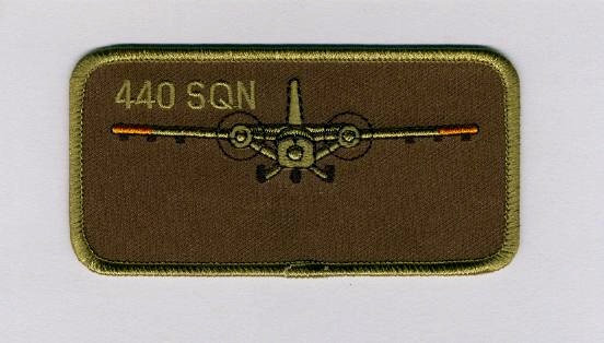440 Squadron Name Patch