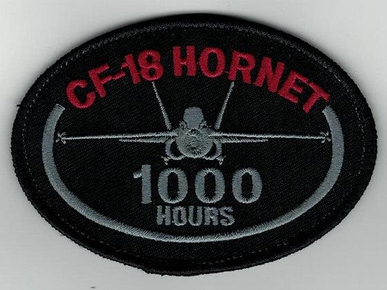 CF-18 1000 Hrs silver