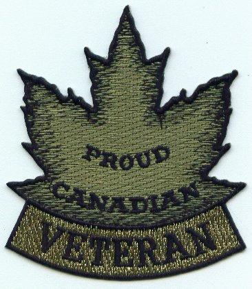 Proud Canadian Veteran