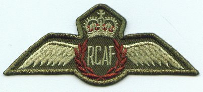 RCAF Wings Twill