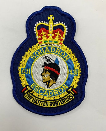 431 Sqn Heraldic patch