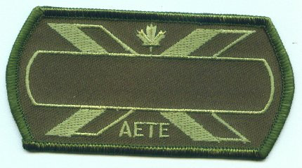 AETE Name patch