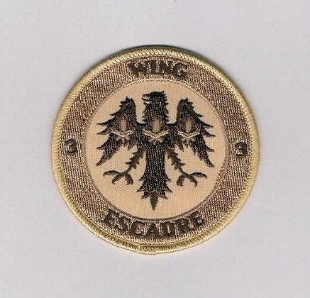 3-Wing Bagotville crest